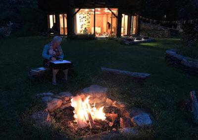 CentroArte Wochenendseminar Potenzial entfalten Kreatives am Feuer