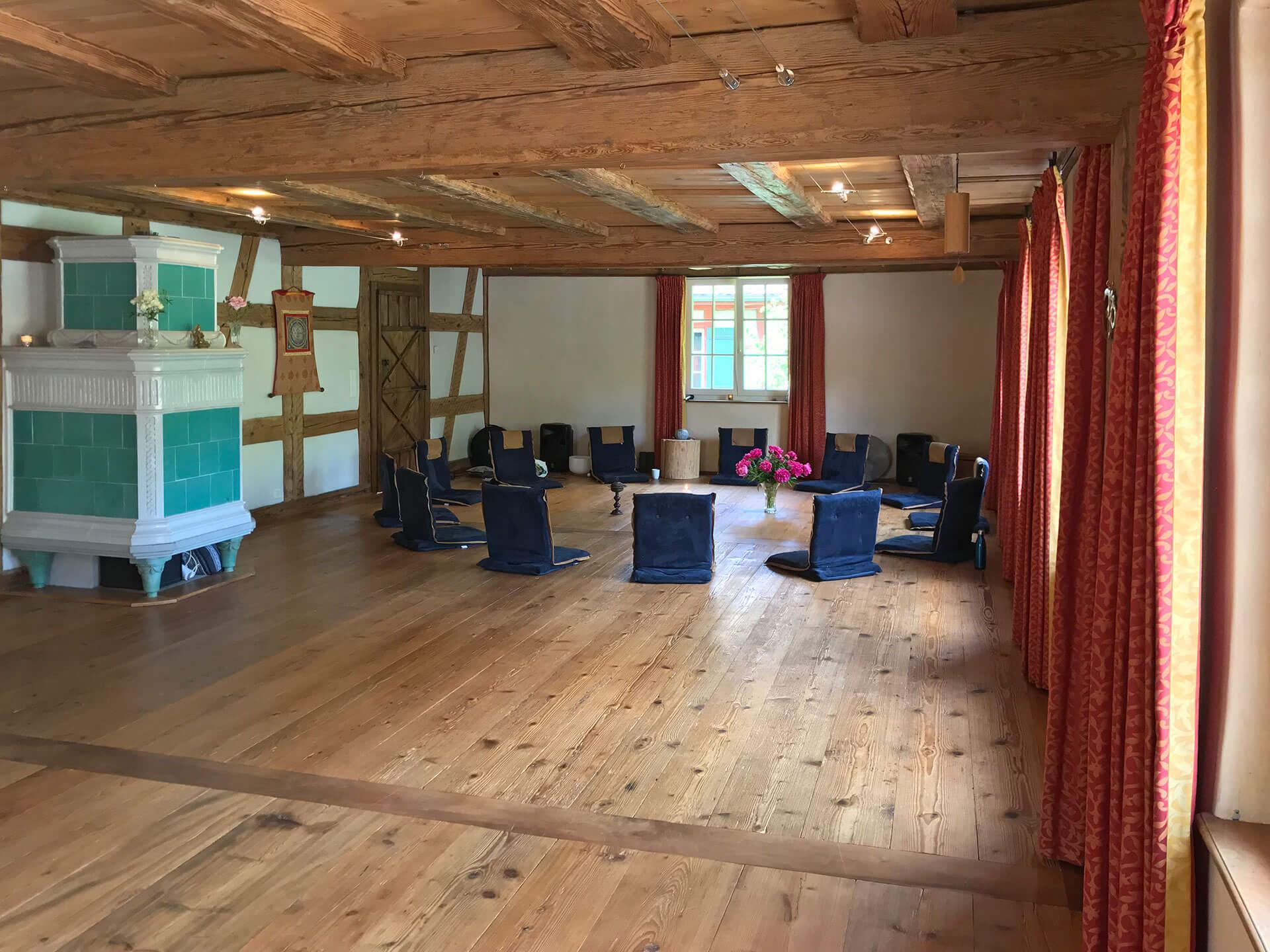 Klingenmuehle Potenzial entfalten Wochenendseminar Seminarraum