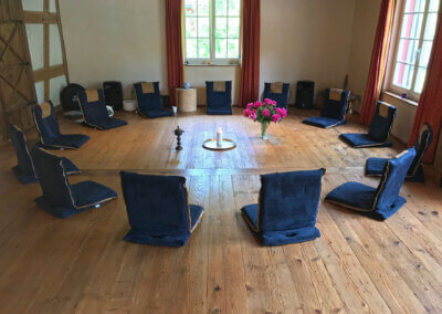 Klingenmuehle Potenzial entfalten Wochenendseminar Seminarraum Kreis
